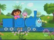 Dora boots and azul