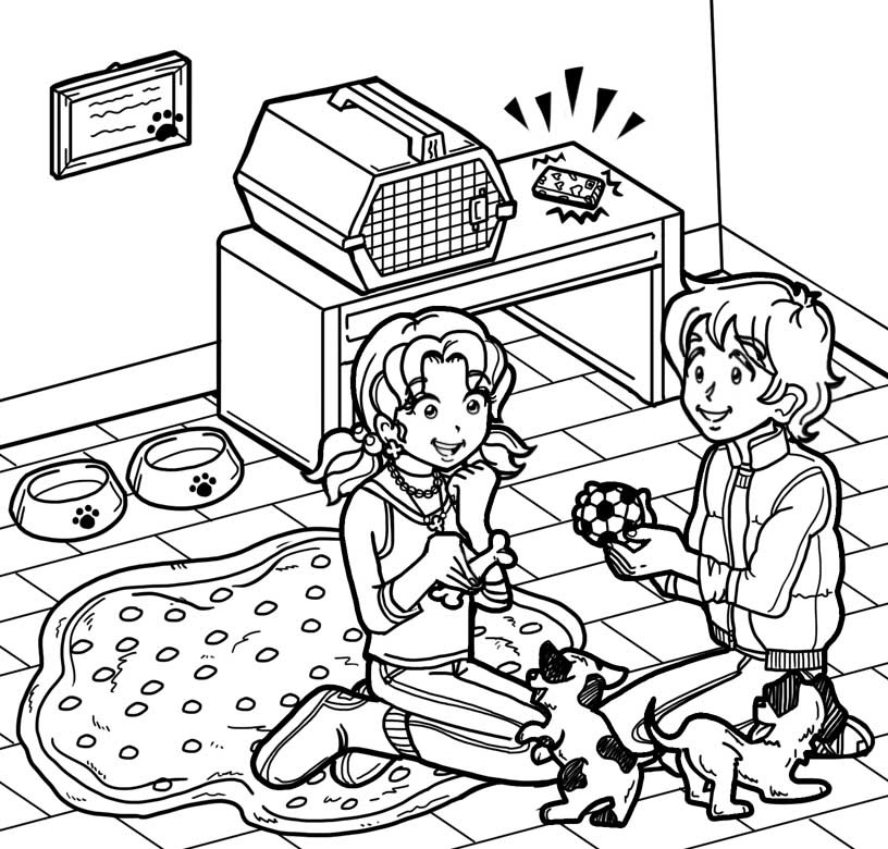 Image i think chloe and zoey are mad at dork for Dork diaries coloring pages online