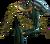 Chest hydra warrior