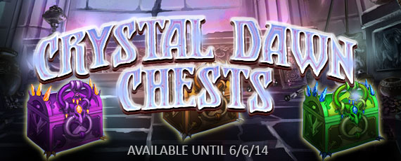 Scroller crystal dawn chests
