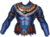 Chest blue jaguar warrior
