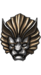 Helm lionsset