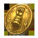 Collection gauntlet token