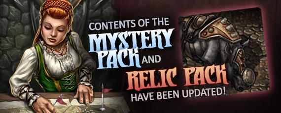 Scroller dotd mystery-relic packs 160107