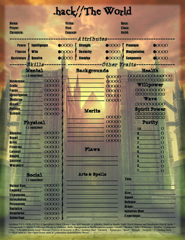 File:.hack - The World R3 (World of Darkness) - Character Sheet 4.jpg