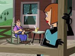 S01e08 on the porch