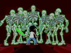 S01e13 skeleton army awakened