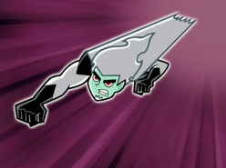 S02M02 Dark Danny flying like superman