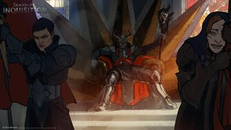 Inquisition Inquisitor as Divine concept