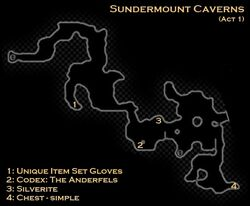 DA2 Map - Sundermount Caverns (Act 1 - Long Way Home)