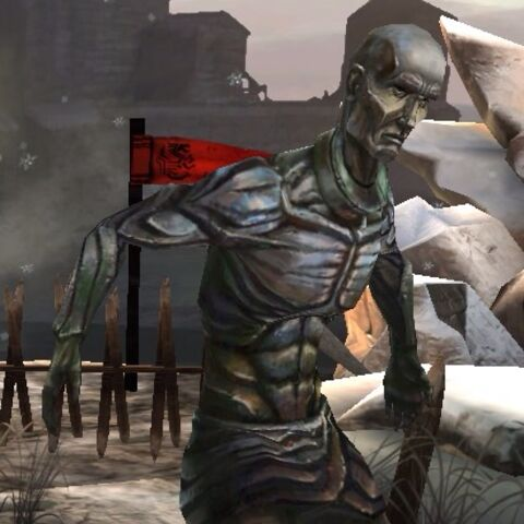 A slave statue in <i><a href=
