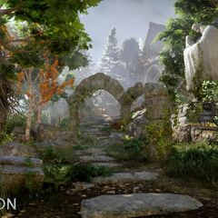 Promotional image of Redcliffe in <i>Dragon Age: Inquisition</i>