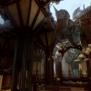 The Still Ruins interior