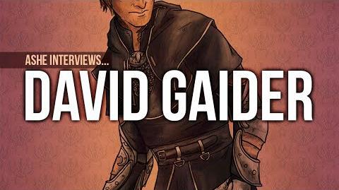 Interview with David Gaider, Lead Writer at Bioware