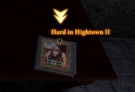 Literary Theft Hard in Hightown II
