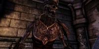 Fanged skeleton