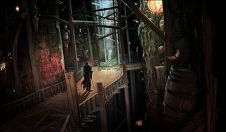 The Black Emporium concept art