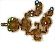 Vigil's Keep - Basement Map