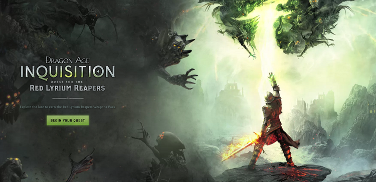 Quest for the Red Lyrium Reapers Header