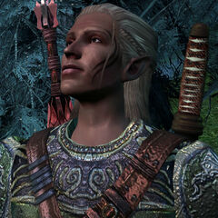 Zevran in Haven (Dragon Age: Origins)