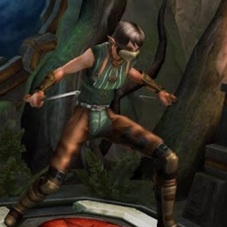 A Coterie thief in <i>Heroes of Dragon Age</i>