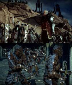 how to change party formation dragon age origins
