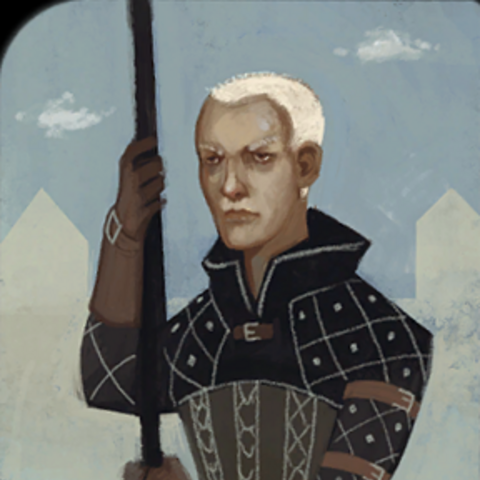 Warden Commander Clarel tarot card