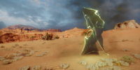 Rifts in Sand and Dust