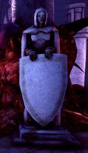 Object-Statue Shield