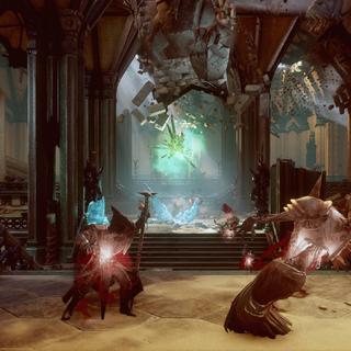 Frozen Demons and Venatori in the Main Chamber.
