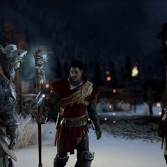 Dorian in the <i>Enemy of Thedas</i> trailer