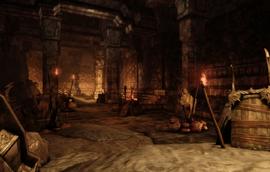 Caridin's Cross - darkspawn barricade