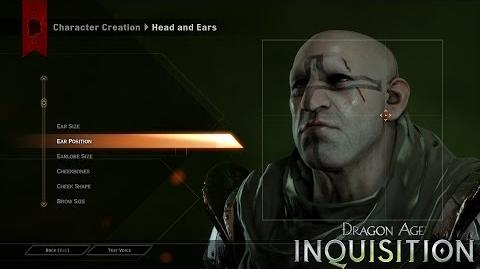 DRAGON AGE™ INQUISITION Gameplay Feature – Character Creation