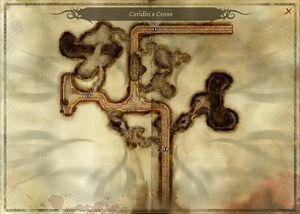 Map-Caridin's Cross