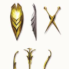 Arlathan Elven weapons