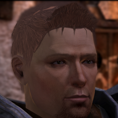 Grey Warden Alistair in <i><a href=