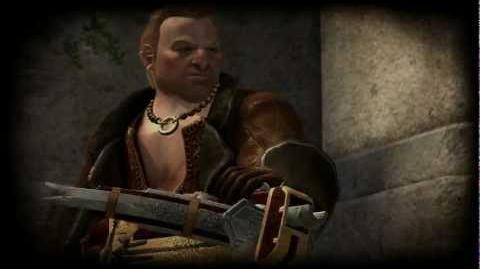 Dragon Age 2 Varric's Tale (Missing lines)