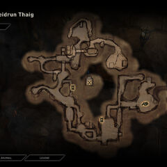 Map of the Ruins of Heidrun Thaig