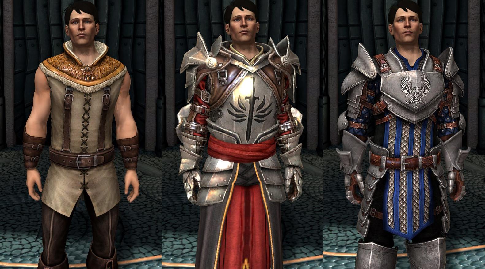 Grey Warden Mage Armor Origins