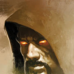 Aurelian as depicted on the cover of <i>Dragon Age Library Edition vol. 1</i>