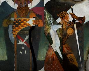 Warrior cards