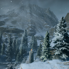 A view from the Frostback Mountains