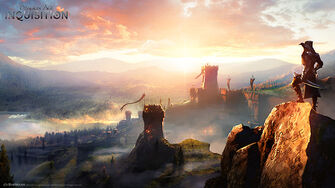 Inquisition sunset concept