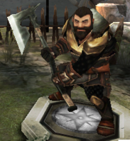 Dwarven Warrior - HoDA