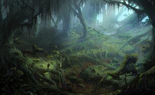 Arbor Wilds concept art
