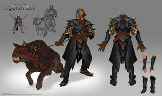 Inquisition Dragon armor concept