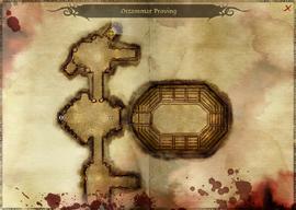 Proving Armsman map location