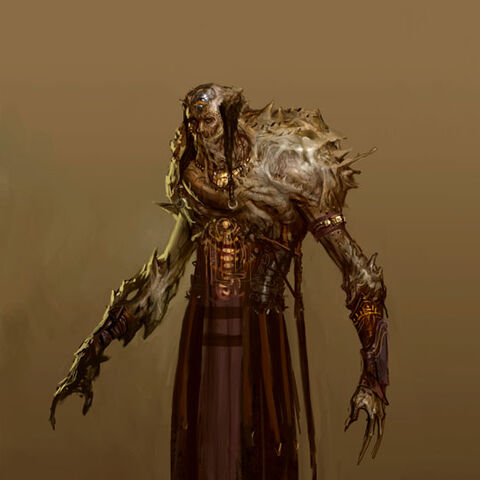 Concept art for <i>Dragon Age: Origins</i>