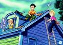 Marron Krillin and Android 18