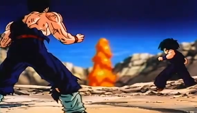 File:Gohan and Krillin.png